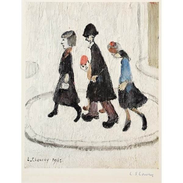 LAURENCE STEPHEN LOWRY THE FAMILY  Image