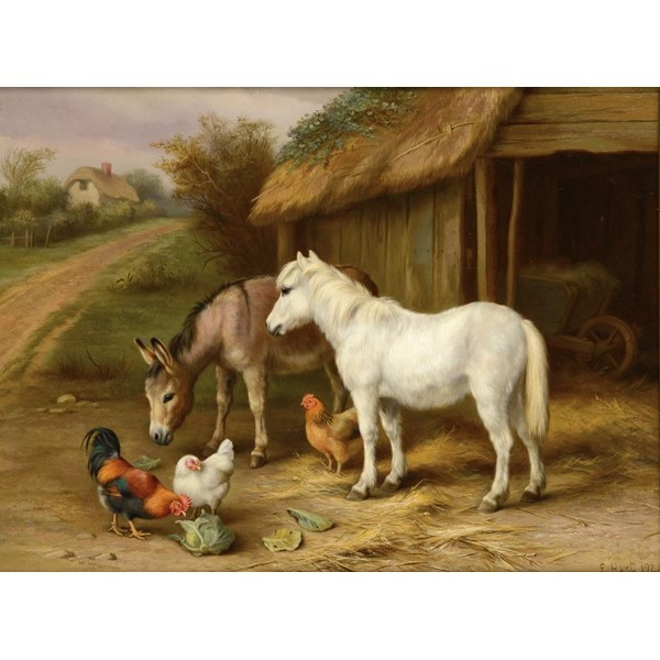 EDGAR HUNT FARMYARD FRIENDS Image