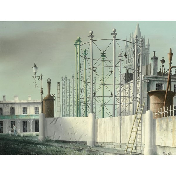 FELIX KELLY GASWORKS AND TRURO CATHEDRAL Image