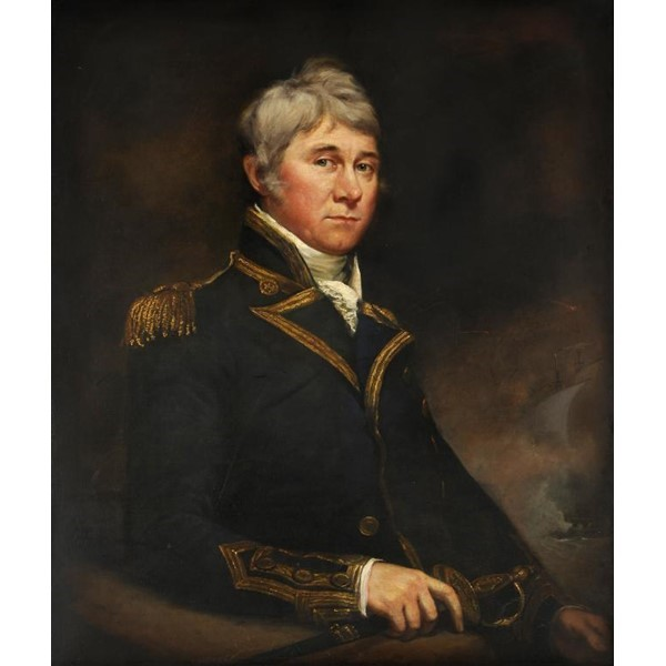 PORTRAIT OF CAPTAIN SAMUEL BROOKING Image