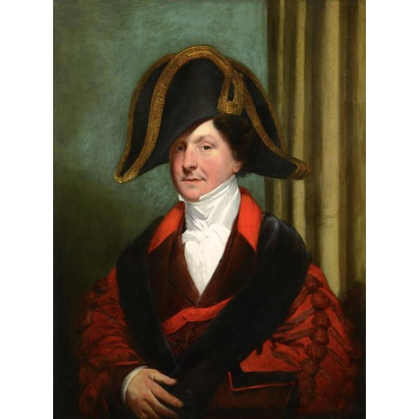 WILLIAM WOODGATE PORTRAIT JAMES TOOLE Image